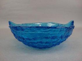 Beautiful Blue Glass Bowl