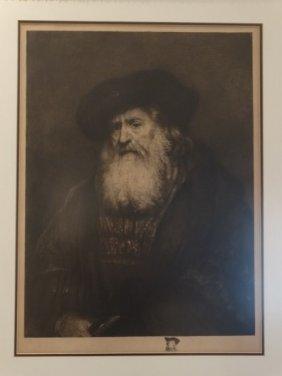 After Rembrandt - Engraving