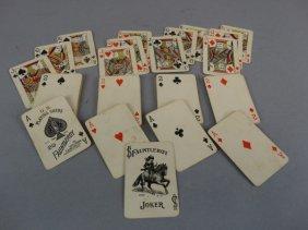 Vintage Fauntleroy Miniature Playing Card Set