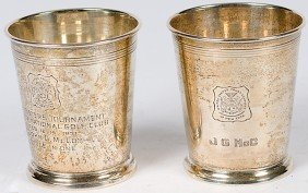 Reed And Barton Sterling Julep Cups�