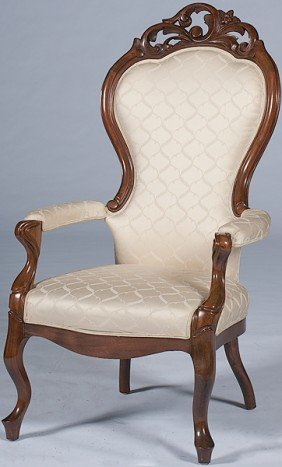 Rococo Revival Arm Chair�
