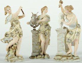 Volkstedt Porcelain Figurines�