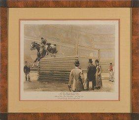 Lithograph After W.S. Vanderbilt Allen The High Ju