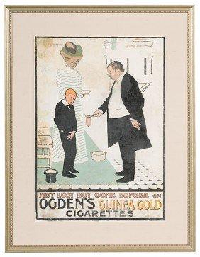 Ogden's Guinea Gold Cigarette Poster�