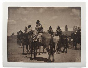 Edward S. Curtis Signed Platinum Photograph Jicari