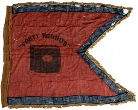 Civil War 15th Army Corps Forty Rounds Headquarter