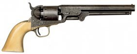 Factory Engraved Model 1851 Colt Navy Percussion R