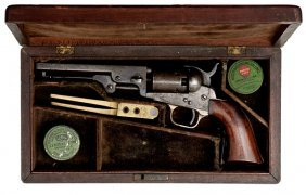 Cased Model 1849 Colt Pocket Revolver�