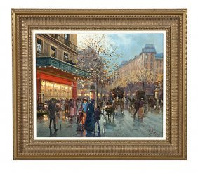 Emilio Payes Carranza (French, B. 1935), Parisian S