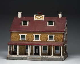 Farmhouse-Style Doll House