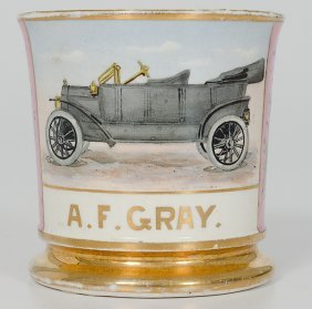 Early Automobile Shaving Mug�
