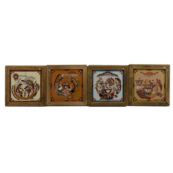 111 Jennifer Roche Hopi Seasons Tiles Lot 111