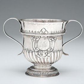 George I Sterling Two-Handled Cup�