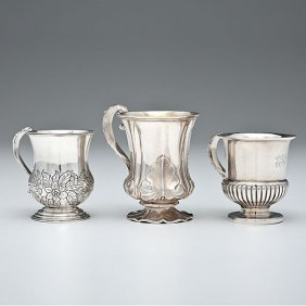 Anglo-Indian Sterling Children's Cups�