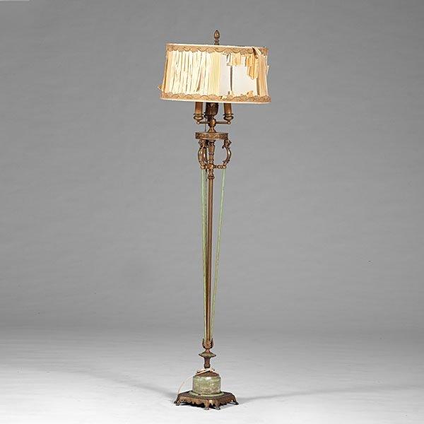 Colonial Premier Co Floor Lamp Lot 522