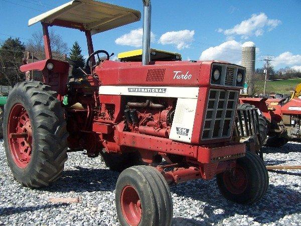 Farm Tractor Roll Bars : International farm tractor w roll bar canopy