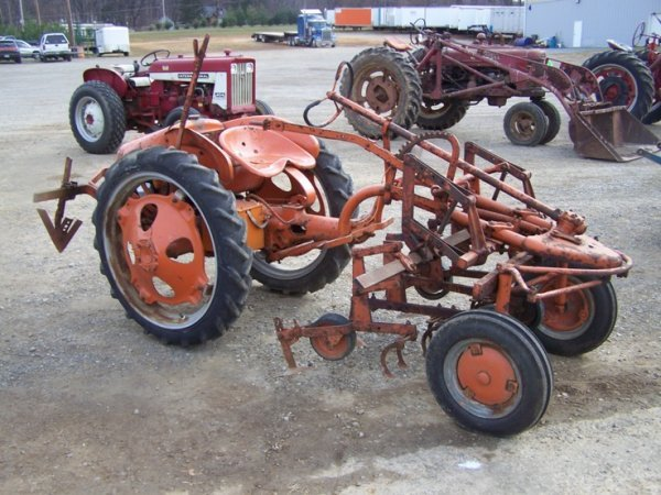 allis chalmers g tractor attachments pictures to pin on pint