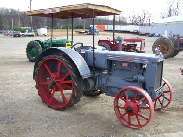 Case Model C : Case model c antique tractor lot