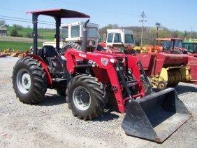210 2002 Massey Ferguson 451 Farm Tractor With Loader