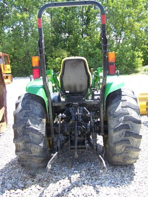 John Deere 4710 Compact Tractor : John deere compact tractor with loader lot