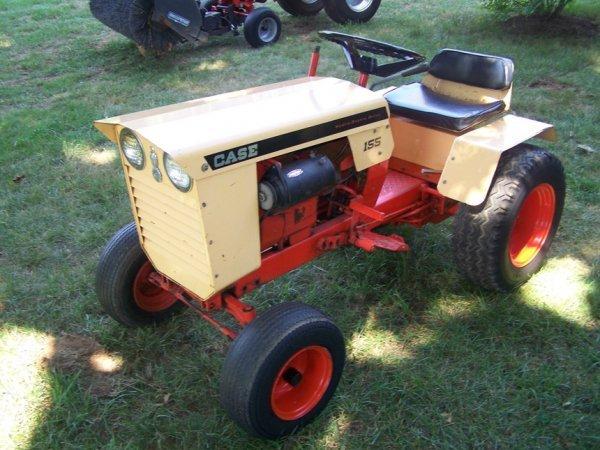 Old Case Garden Tractor Parts : Case lawn garden tractor nice original