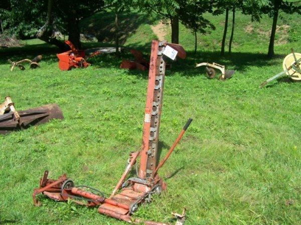 2659a haban 408c 4 39 sickle bar mower garden tractors lot 2659a for Sickle mower for garden tractor