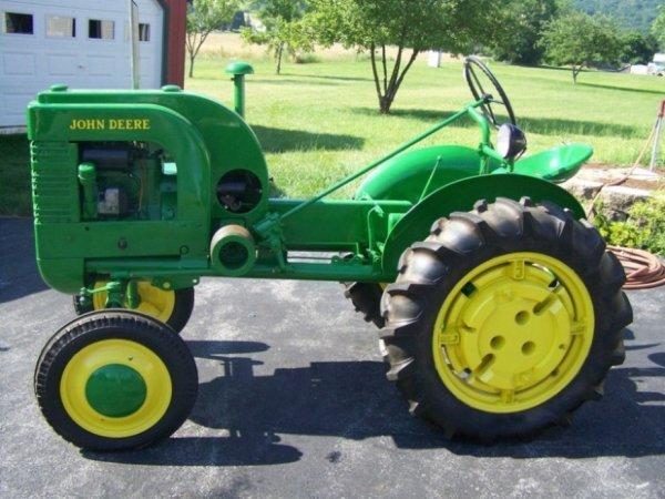 Antique John Deere Tractor Parts : Restored john deere la antique tractor lot