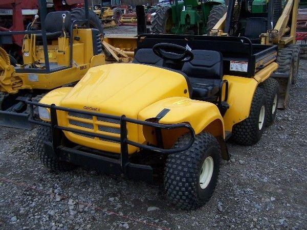 21 cub cadet big country 6x4 gator type utility vehicl lot 21. Black Bedroom Furniture Sets. Home Design Ideas