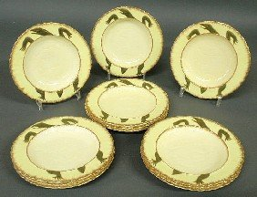 Set Of 12 Terrapin Soup Plates By Moore (Bros.)