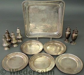Group Of Sterling Silver Table Articles TI Six We