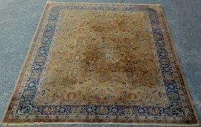Room Size Indo-Kashan Oriental Carpet. 11�8�x8�7�