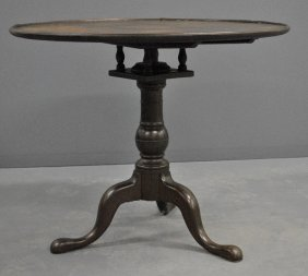 Pennsylvania Queen Anne Walnut Tea Table, C.1780, With