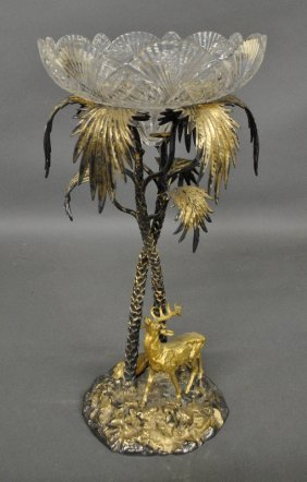 Victorian Centerpiece Epergne Probably By Elkington,