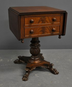 Lancaster County, Pa. Empire Revival Work Table