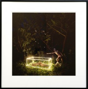 David Lachapelle (born 1963) First I Need Your Hand,