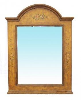 Beveled Brown Mirror