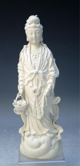 Chinese Porcelain Guanyin 18th Century