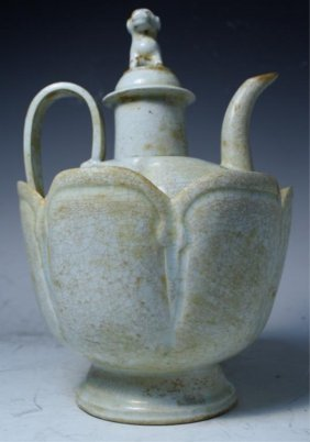 Chinese Ding Ware Ewer W/ Bowl Song Dyn