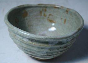 Japanese Shigaraki Tea Bowl 19th Century