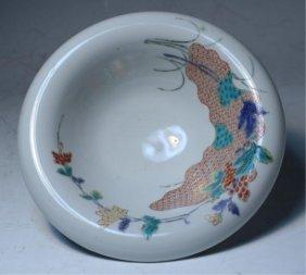 Japanese Iro-e Kakiemon Bowl Edo Period