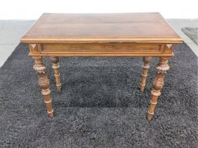 Antique Flip Top Game Table