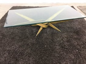 Brutalist Silas Seandel Coffee Table