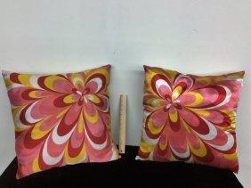 Pair Mod Pillows
