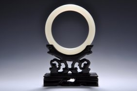 Chinese Jade Bangle Bracelets