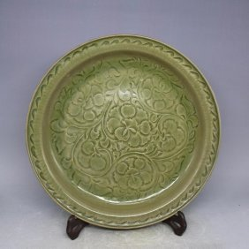 Chinese Song Cizhouyao Porceliain Plate