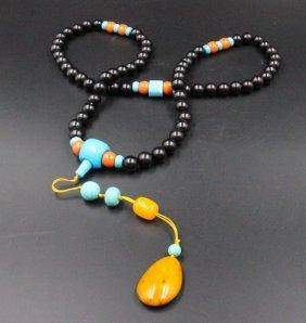 Indonesian Chenxiang Buddhist Prayer Beads