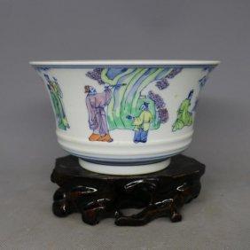 Chinese Doucai Porceliain Bowl