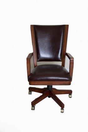Executive Cherry Desk Chair