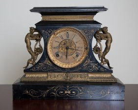 Antique Ansonia Rosalind Mantle Clock