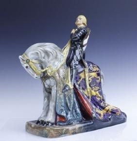 Large Royal Doulton ST GEORGE HN2067 Figurine